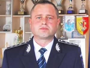 Comisarul-șef Cătălin Nistor, împuternicit adjunct al poliției județene