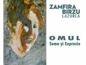"""Expoziția de pictură """"Omul - semn și expresie"""", a artistei Zamfira Bîrzu"""