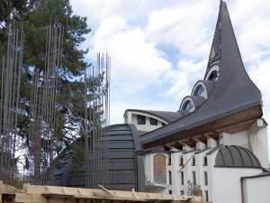 Turnul Unirii a început să fie construit în anul Centenar, lângă biserica de la Tribunal