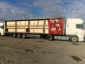 Transporturile ilegale de masă lemnoasă confiscate de Garda Forestieră Suceava