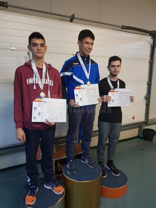 Eduard Nemțoc si Eduard Buliga au urcat pe podium în prima etapă a naţionalelor de tir sportiv puşcă aer comprimat
