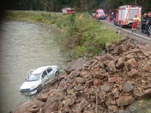 Din fericire, accidentul nu a avut consecințe grave
