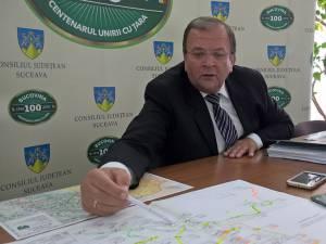 Preşedintele CJ Gheorghe Flutur și propunerile pentru magistralele de gaz metan