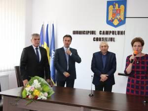 Autorităţile locale din Câmpulung Moldovenesc au fost alături de conducerea Dorna Medical la inaugurarea noului laborator medical