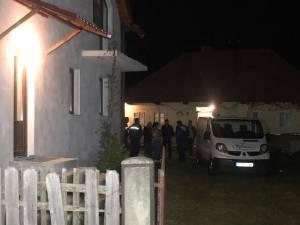 Casa în care a fost găsit poliţistul