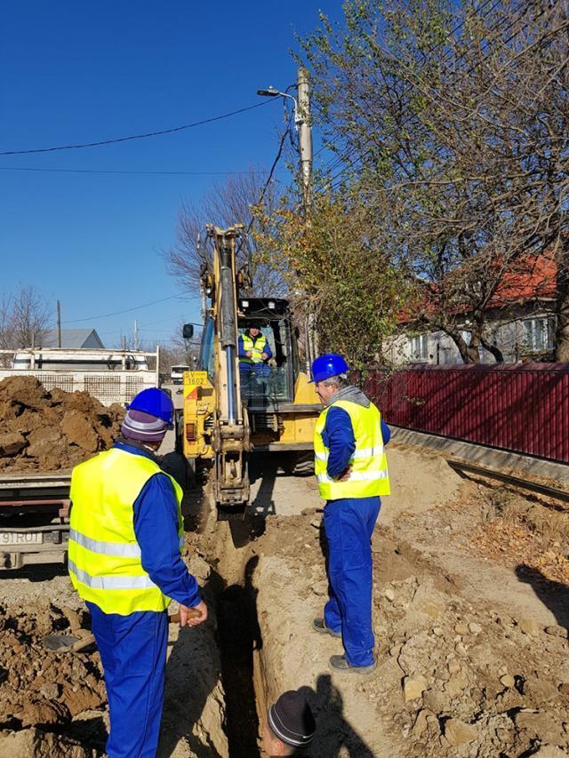 Test Prima a demarat în forță lucrările de racordare la gaz metan a cartierului Burdujeni Sat