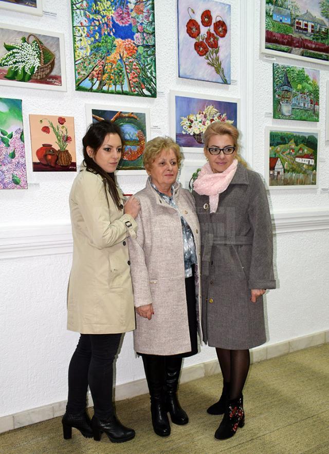 Delia Leizeriuc, Mariea Lungu şi Loredana Ceică