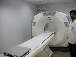 Directorul medical al spitalului, Cristian Rusu, spune că prin dotarea cu un computer tomograf va crește calitatea serviciilor medicale oferite de spital
