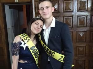 Bianca Varvara și Vlad Stratilă, Miss și Mister Boboc al Balului de Poveste de la Colegiul Militar
