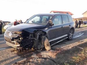 Accidentul a fost produs de şoferul autoturismului Seat, care a pătruns pe contrasens