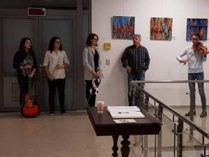 Expoziţia VISIONS a artistului Adrian Leonard Melish