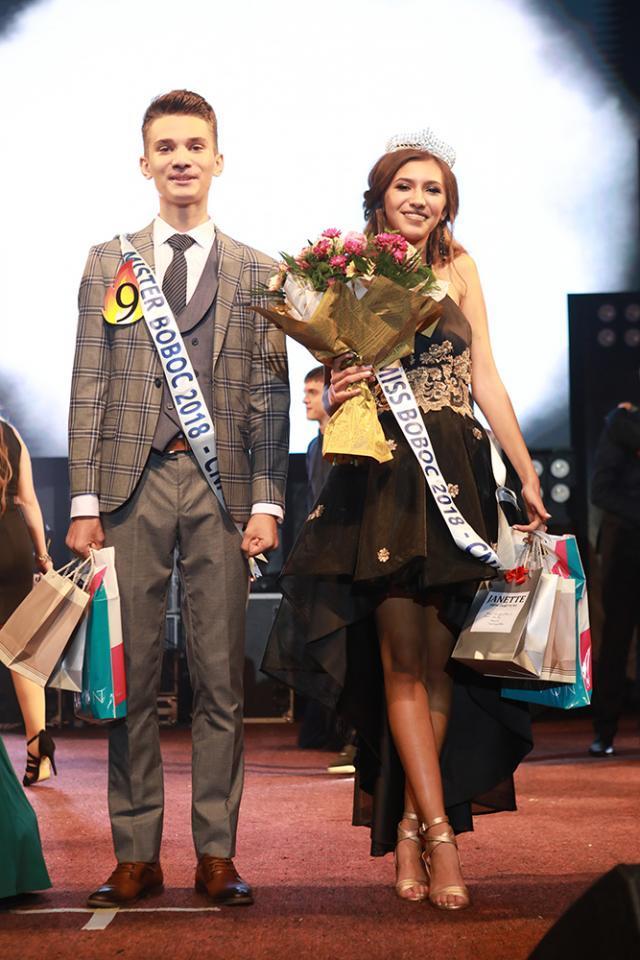 Sabina Ciutac și Iustin Orhean – Miss și Mister Boboc 2018