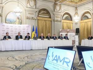 Ion Lungu la şedinţa Asociaţiei Municipiilor din România