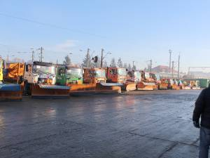 Pregatirile pentru iarna ale firmei Diasil, verificate de conducerea Primăriei