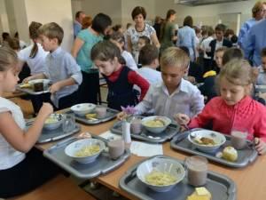 Masa caldă în școli mai mult a stat pe tușă, funcţionând doar câteva luni din 2016 (foto economica.net)