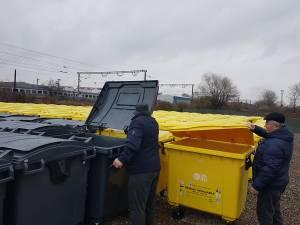Noul sistem de colectare a deşeurilor, care urmează să fie implementat în Suceava