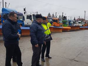 Pregătirile făcute de Diasil pentru intervențiile necesare în sezonul rece, verificate în teren de conducerea Primăriei Suceava