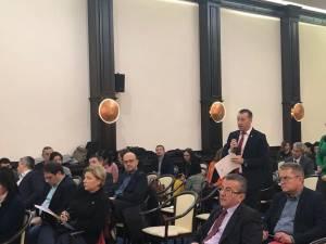 Viceprimarul Lucian Harșovschi a prezentat prezentat membrilor Comisiei Europene stadiul proiectelor municipalității sucevene
