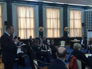 Viceprimarul Lucian Harșovschi a prezentat membrilor Comisiei Europene stadiul proiectelor municipalității sucevene
