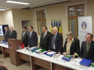 Prezidiul sesiunii solemne a Academiei Române