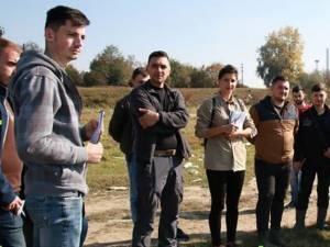 Aplicație practică în lunca râului Suceava
