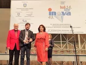 Premiul pentru cea mai bună invenţie europeană în cadrul unui salon de inventică din Croația