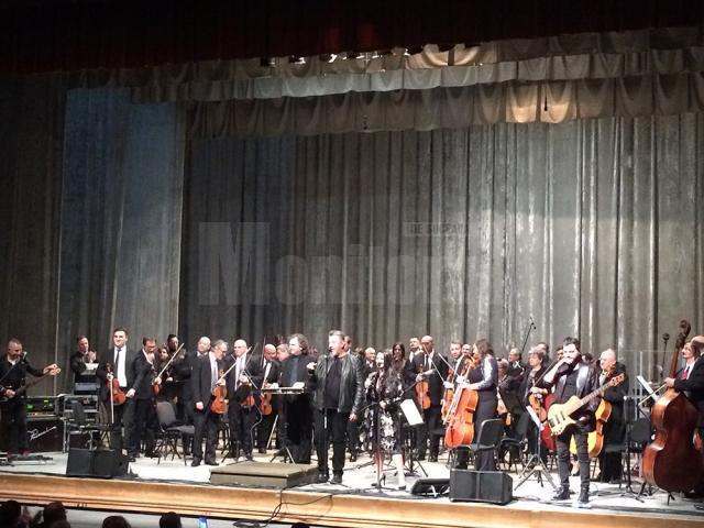 Seară magică oferită sucevenilor de Proconsul şi Filarmonica Botoșani