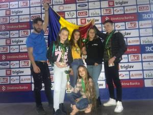 Sportivi de la Clubul ACS Invictus Moldoviţa, campioni în Serbia