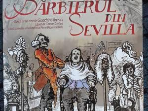 """""""Bărbierul din Sevilla"""" pe scena Casei de Cultură a Sindicatelor Suceava"""