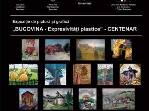 Expoziția cuprinde 40 de compoziții realizate în tehnicile picturii și graficii