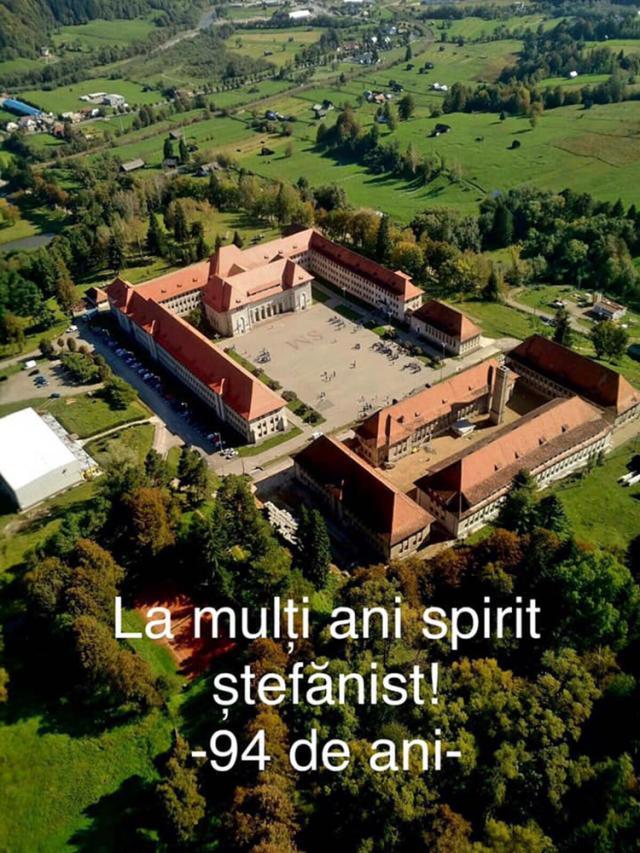 """Aniversarea a 94 de ani de existenţă a Colegiului Naţional Militar """"Ştefan cel Mare"""" Câmpulung Moldovenesc"""