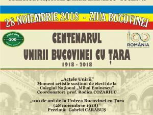 """""""Centenarul Unirii Bucovinei cu Ţara. 1918-2018"""" la Biblioteca Bucovinei"""