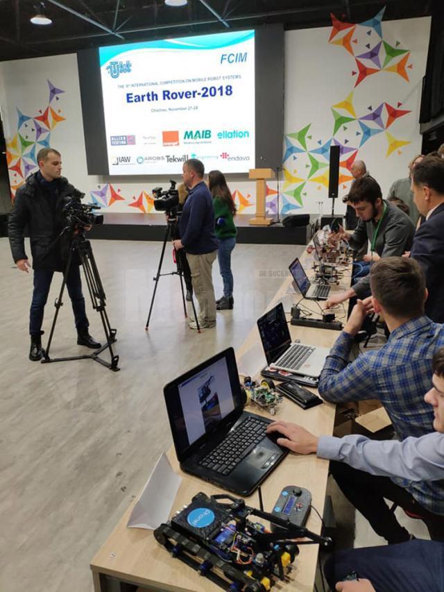 """Concursul Internaţional de Sisteme Robotice Mobile """"Earth Rover"""" 2018"""