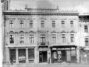 Palatul Naţional din Cernăuţi, unde a fost primit generalul Iacob Zadik