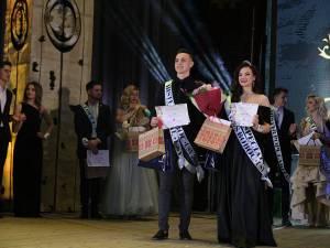 Ligia Buruiană și Doni Petru - Miss și Mister Boboc USV 2018