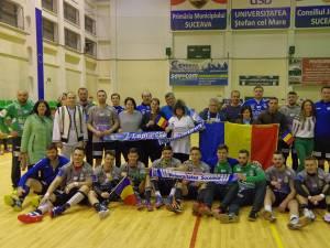 Handbaliştii de la CSU Suceava au sărbătorit Ziua Naţională cu o victorie în faţa grupării CSM Bacău