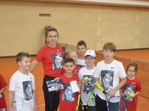 David Arcip a fost premiat de marea campioană Simona Halep