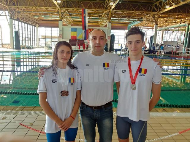 Maria Verciuc şi Sebastian Croitor au câştigat patru medalii la Cupa Ţărilor Europei Centrale