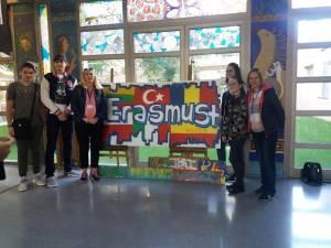 """Elevi și profesori de la """"Spiru Haret"""", în Spania"""