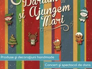 Târg de Crăciun caritabil pentru copiii din centrele de plasament din județ