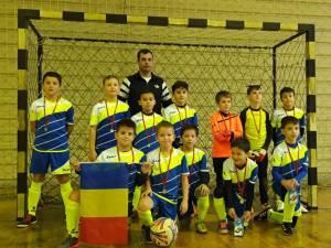 Micii fotbalişti din Fălticeni s-au clasat pe locul 2 la turneul de la Bistrița