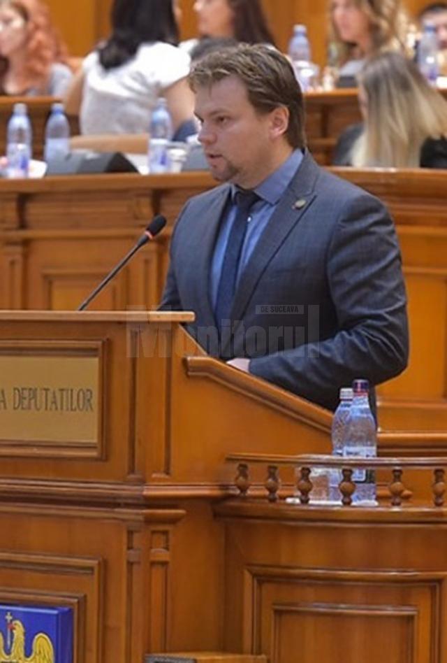 Deputatul USR din Câmpulung Moldovenesc, Daniel Popescu