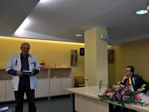 """Lansarea volumului """"400 de ani de asistenţă medicală spitalicească în judeţul Suceava"""", care îi are ca autori pe doctorii Mihai Ardeleanu și Ioan Ieţcu"""