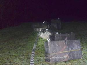 Ţigări de contrabandă, de 40.000 de euro, capturate la graniţa româno-ucraineană