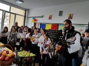 """""""O gustare sănătoasă în An Centenar"""", la Şcoala Gimnazială """"Bogdan Vodă"""""""