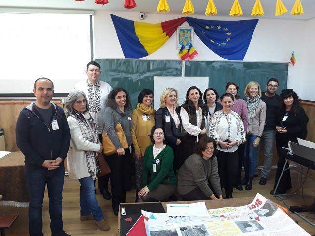 """Liceul din Dumbrăveni a găzduit prima reuniune transnațională din cadrul proiectului """"Hand to Hand – Together in Europe"""""""