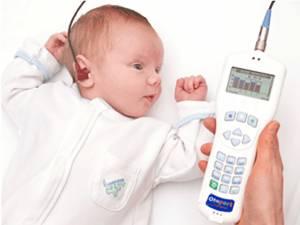 Testarea auzului la nou-născuţi. Foto: romaniacleft.bestsoftconsulting.com