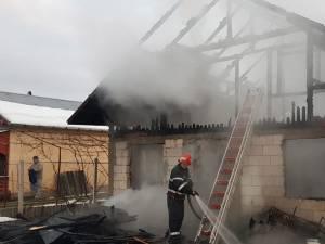 Din păcate, în urma incendiului, tânărul de 29 de ani a pierdut toată agoniseala