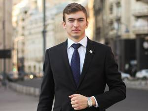 """Luca Ciubotaru, inițiatorul grupului """"Rădăuțiul civic"""""""