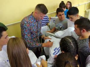 Dorin Goian a dat autografe la finalul evenimentului